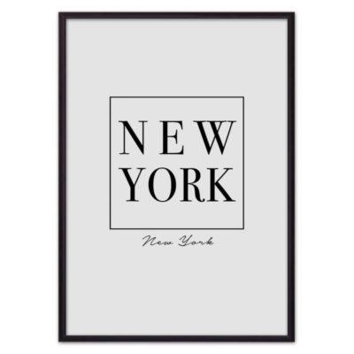 Постер надпись Нью йорк