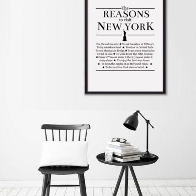 Постер надпись