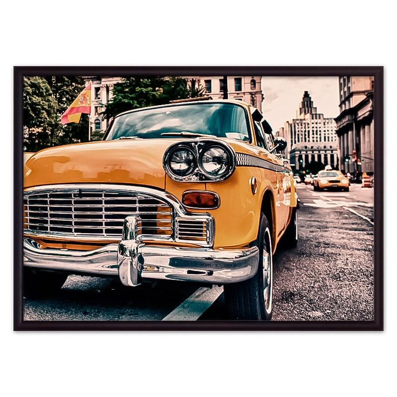 Постер автомобиль