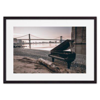 постер пианино рояль