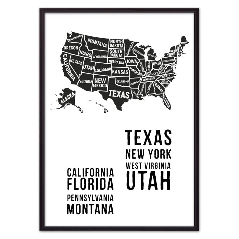 Постер карта