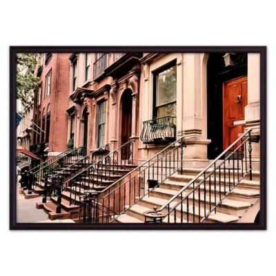 постер дома Нью-Йорк
