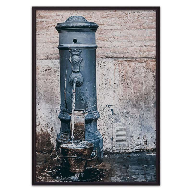 постер вода
