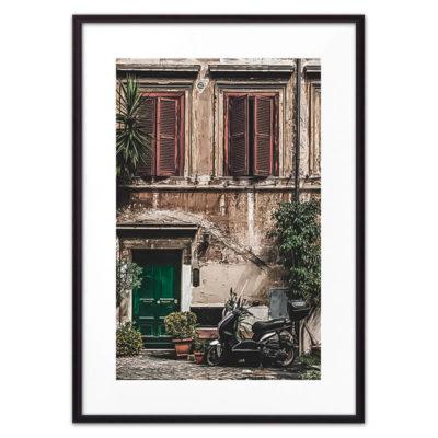 постер окна