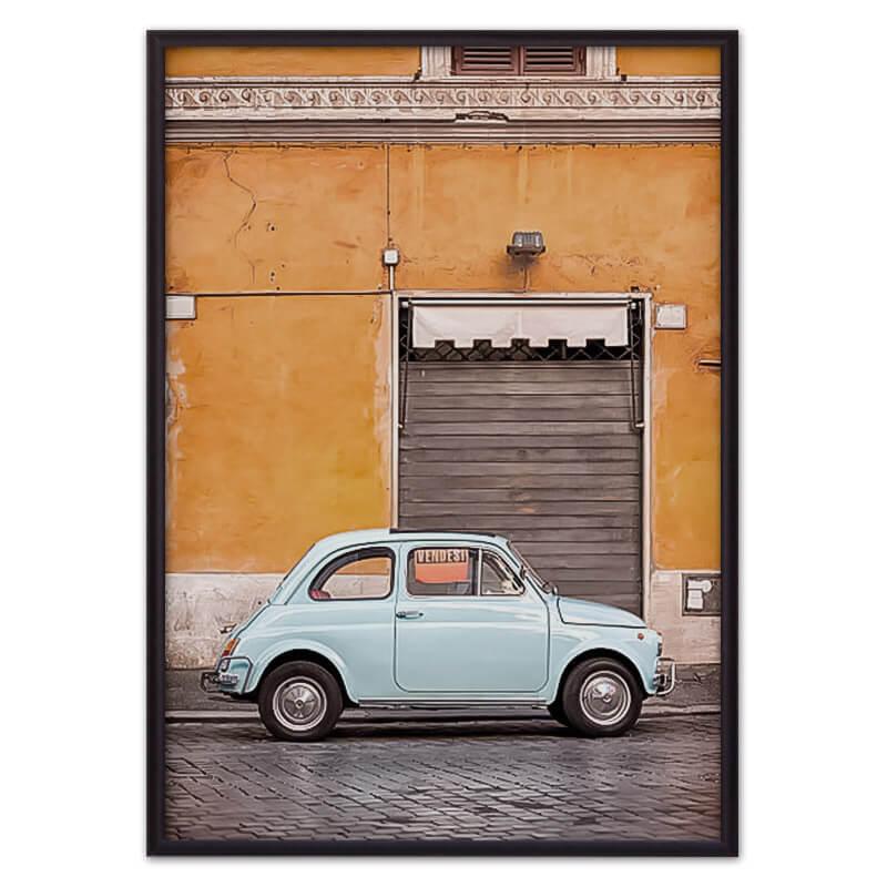 Постер ретро автомобиль