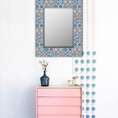 мексиканская плитка зеркало
