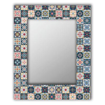 Марокканская плитка зеркало