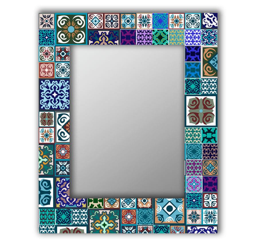 Восточная плитка зеркало