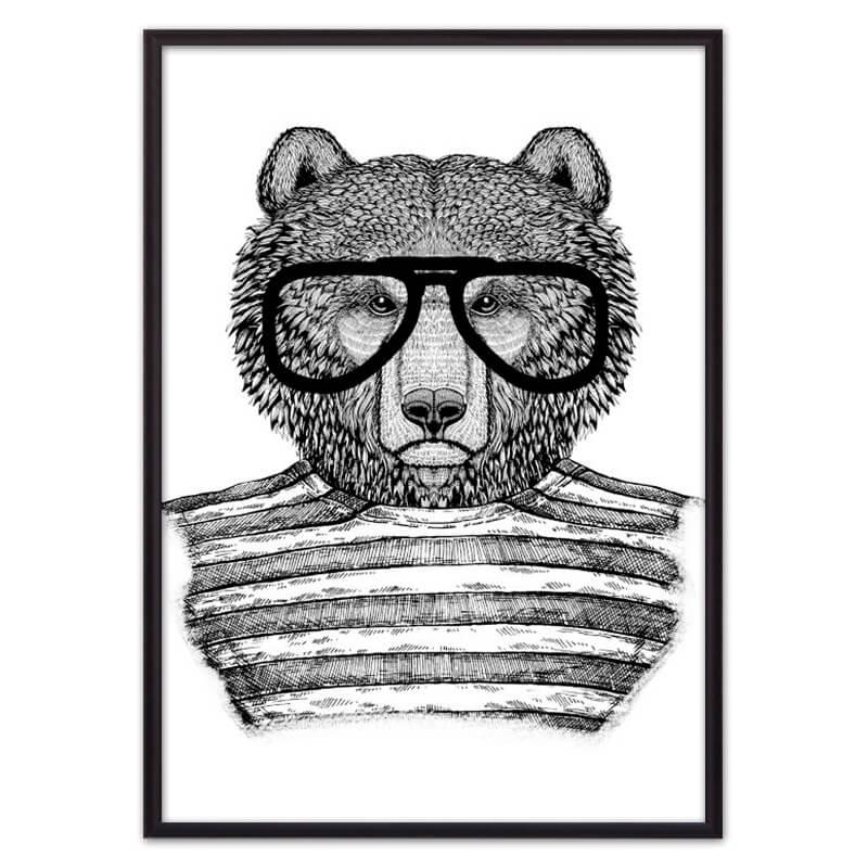 Медведь_в_очках