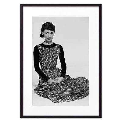 постер Одри Хепберн