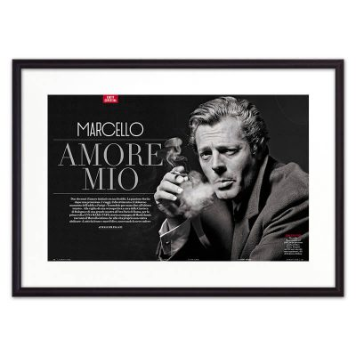 постер Марчелло Мастрояни