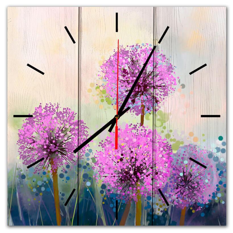 часы одуванчики
