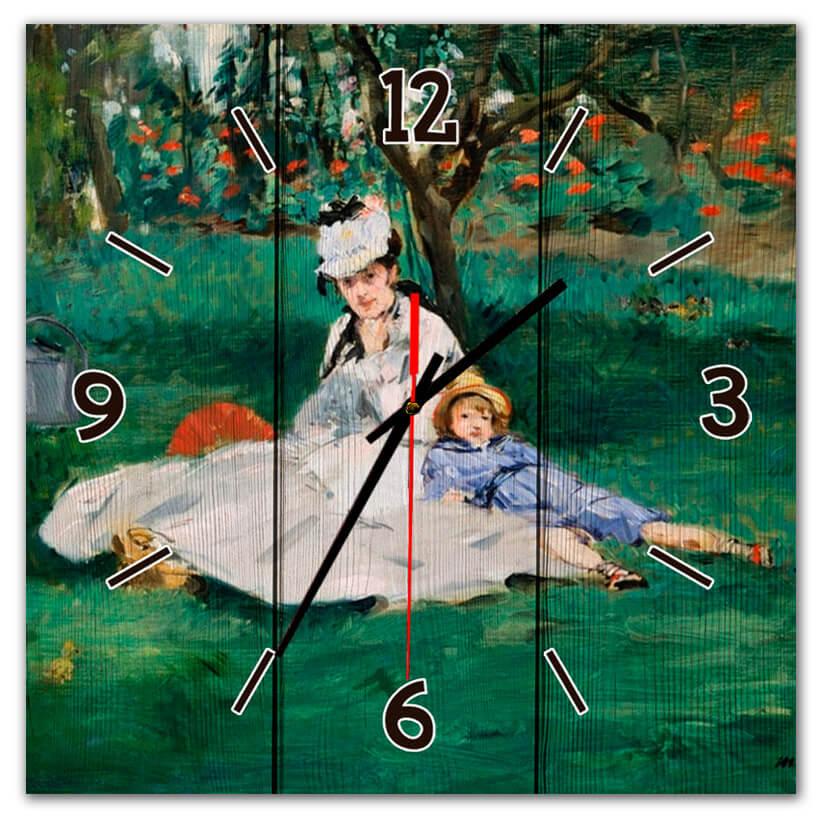 часы зеленого цвета