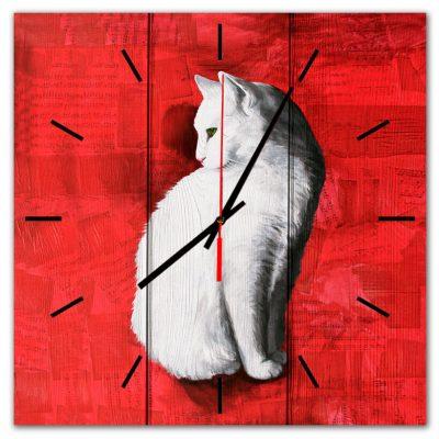часы с котом