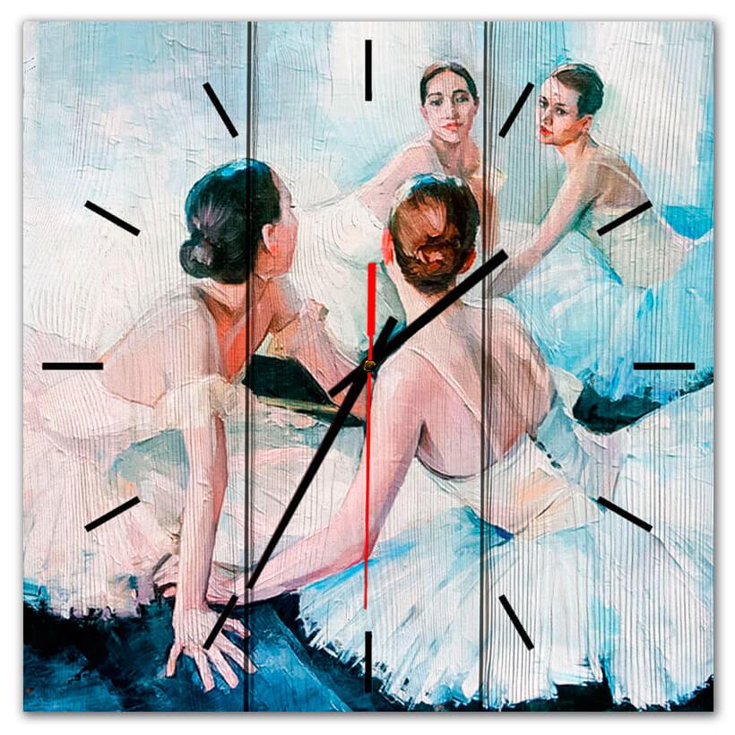 часы балерина