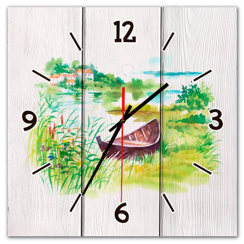 часы с природой
