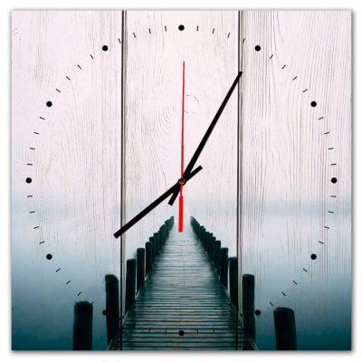 часы с мостом