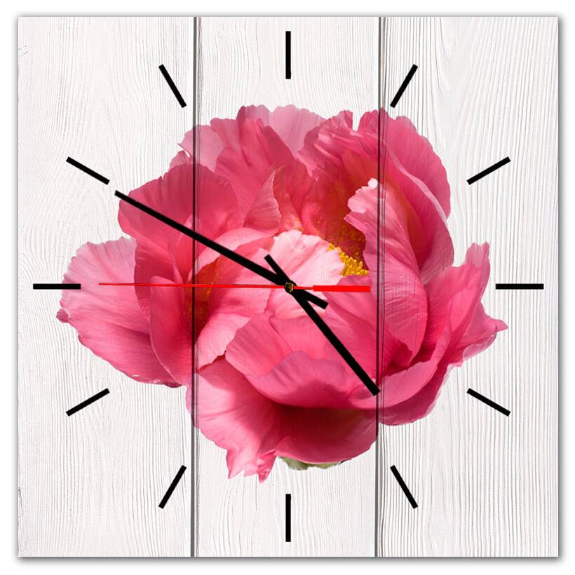 часы настенные пион