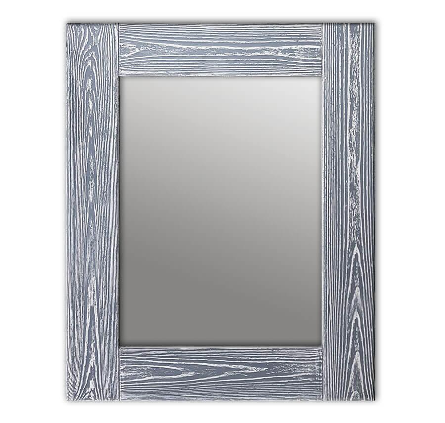 зеркало шебби шик серый