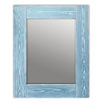 зеркало шебби шик голубой
