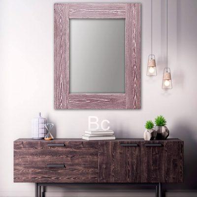 зеркало шебби шик розовый