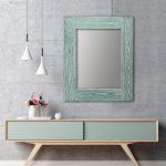 зеркало шебби шик зеленый