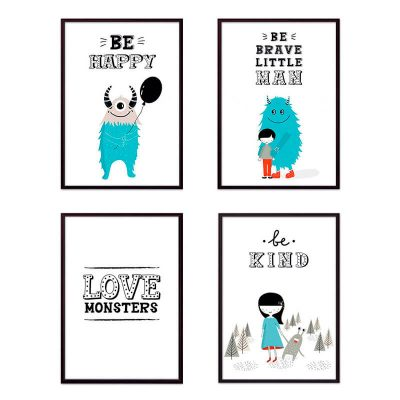 Постеры монстры