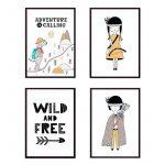 Набор детских постеров