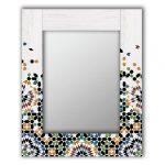 настенное зеркало белое
