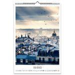 настенный календарь Париж